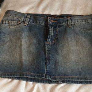 Ed Hardy mini skirt